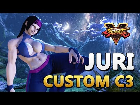 Juri - Custom C3 Colors - Street Fighter V Mod