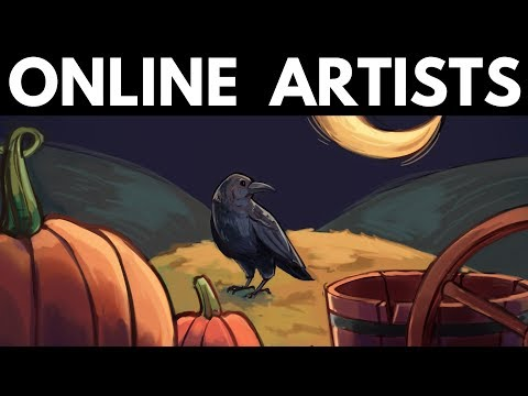 BEING AN ONLINE ARTIST - Growing a Following, Portfolio & Social Media
