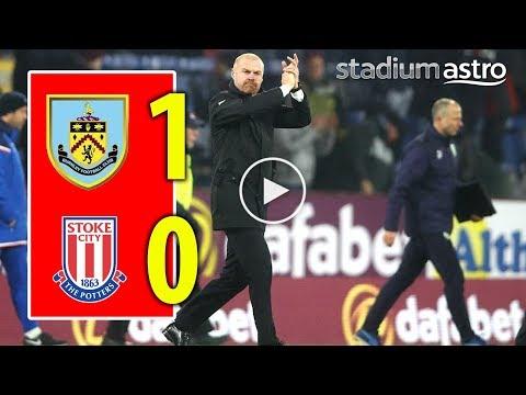 FT Burnley 1 - 0 Stoke