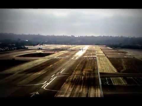 Amazing Plane Spotting @ KSAN San Diego International Airport - HD