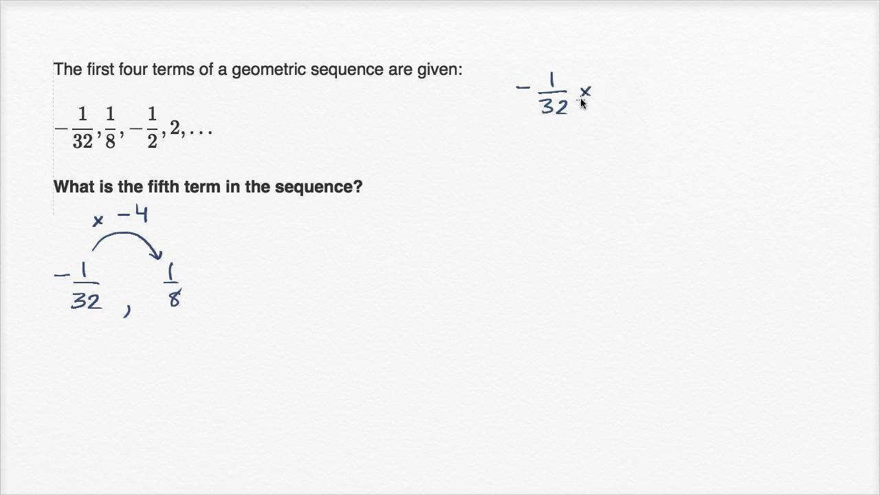 Extending geometric sequences (video)   Khan Academy [ 720 x 1280 Pixel ]