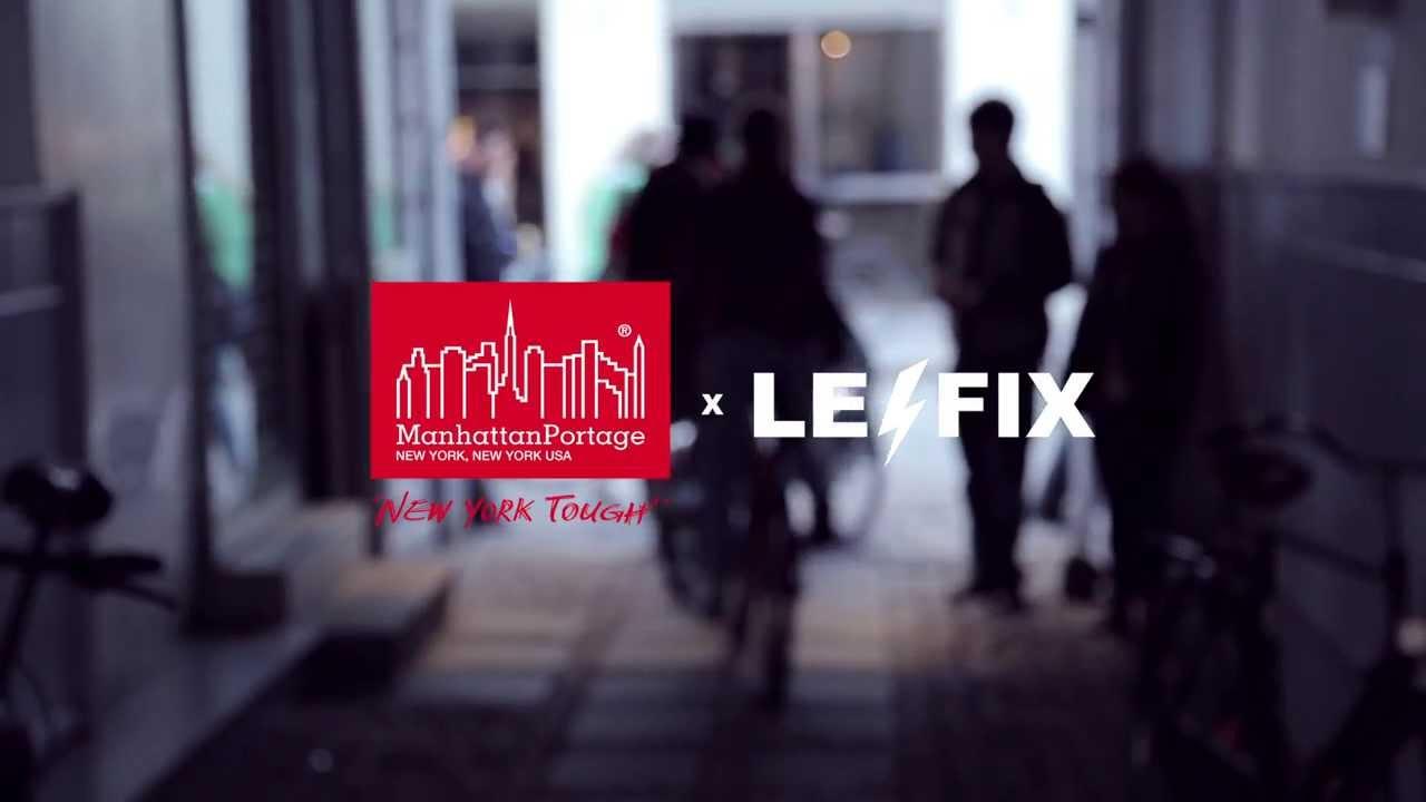 Manhattan Portage & Le Fix LifeStyle Video