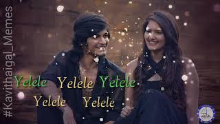 Sagaa Yaayum song Saran Ayra Shabir Murugesh Whatsapp Status songs