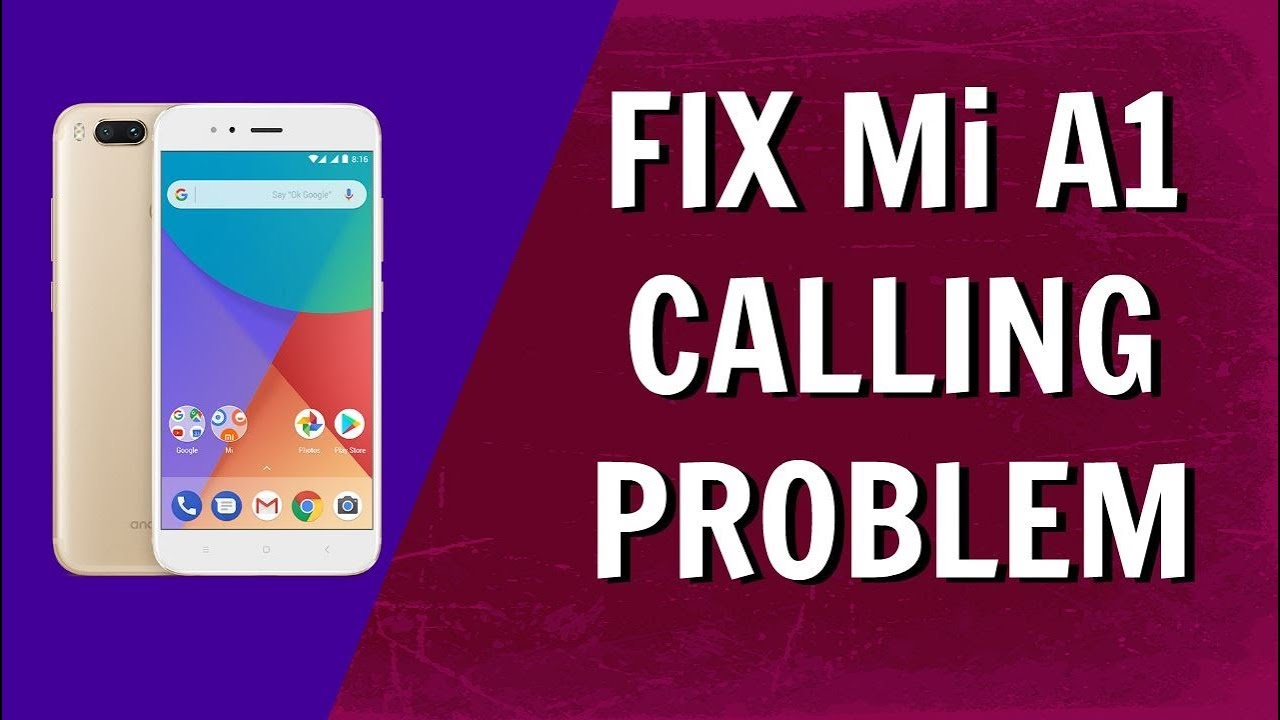Fix Mi A1 Call HANGING Issue OR Phone Delay ISsue On Mi A1 [HINDI]