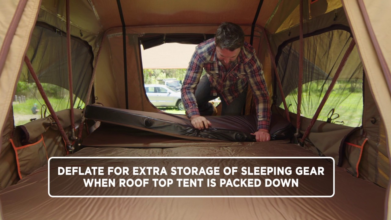 RTM 1400 | SELF INFLATING ROOF TOP TENT MATTRESS & RTM 1400 | SELF INFLATING ROOF TOP TENT MATTRESS - YouTube