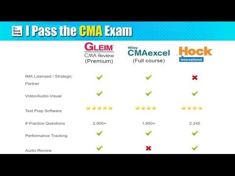 CMA Exam Prep - Gleim Exam Prep