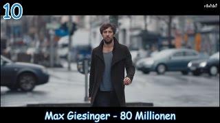 My Top 10 German Pop Songs 2016