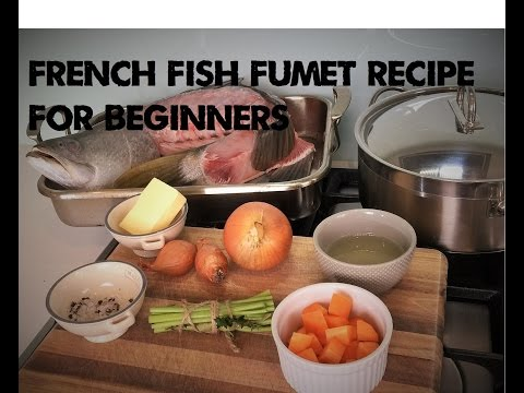 Step by step recipe on how to make French Fish Fumet |(Fish stock)