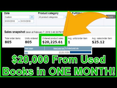 Amazon FBA (2018): 3 Things We Had To Do To Sell $20,000 Of Used Books On Amazon In ONE MONTH