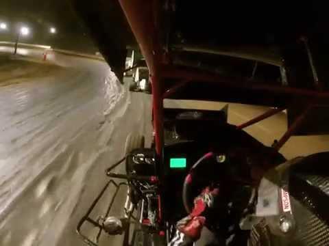 Logan Jones 5J Path Valley Speedway feature race 600 micro sprints 6/6/15