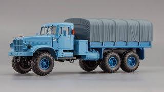 КрАЗ-255Б | Наш Автопром by Hongwell | Огляд масштабної моделі 1:43