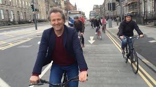 Bikes vs Cars | Edinburgh's Cycle to Cinema with Fredrik Gertten