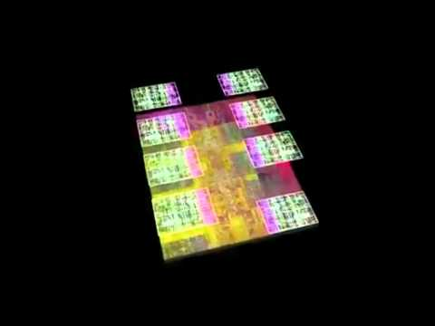 PMS Information Systems - IBM POWER7 processor chip animation.mp4