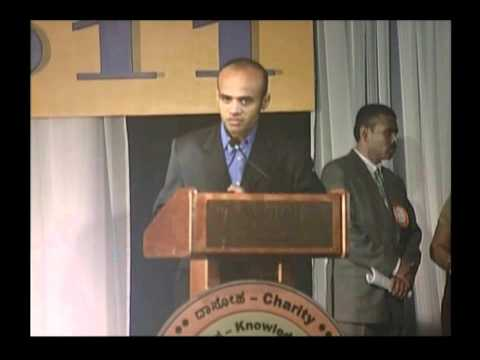Welcome Speech by Convention Co-Chair,  Mr. Shivu Basavaiah