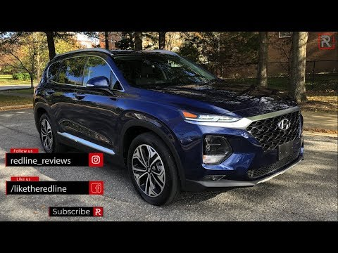 "2019 Hyundai Santa Fe – ""Edgey"" New Crossover"