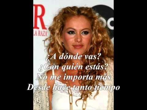 Paulina Rubio Hoy Letra mp3