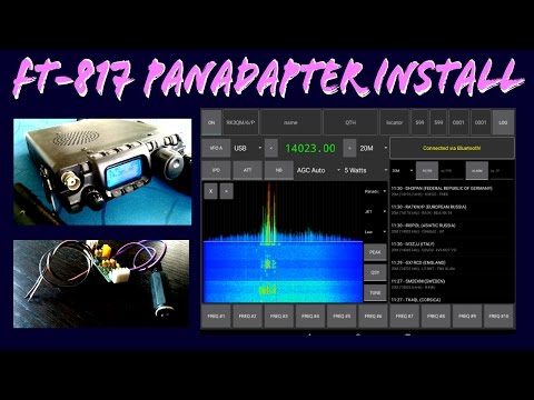 How to setup a RTL SDR with HDSDR and a FT-857 for a panadapter and