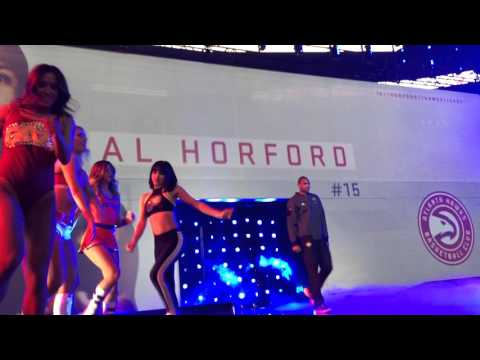 NBA All Star Game 2016 in Toronto - Introduction - Front stage - Drake
