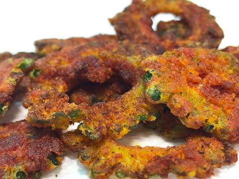 Crispy Bitter Gourd Fries - Learn the trick to reducing the bitterness