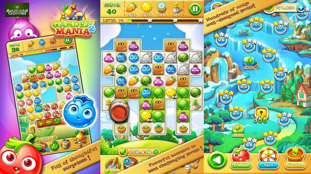 Garden Mania 2 Preview HD 720p YouTube