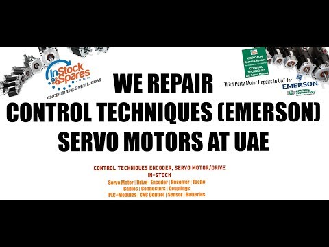 CONTROL TECHNIQUES Servo Repairs at UAE for Oman Bahrain Qatar Saudi Arabia