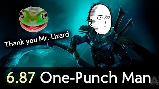 One-Punch Man of 6.87, thx OSFrog — Dota 2