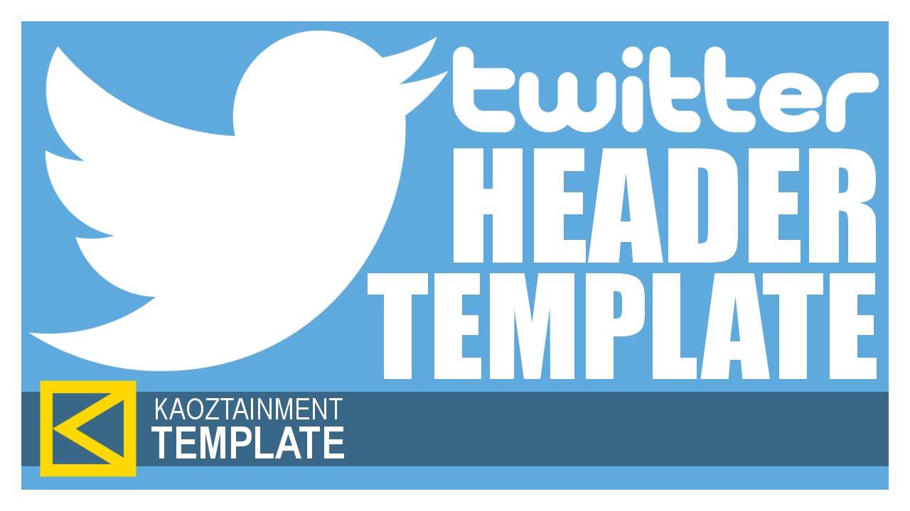 FREE TWITTER HEADER TEMPLATE [GIMP & Photoshop] [German/Deutsch ...