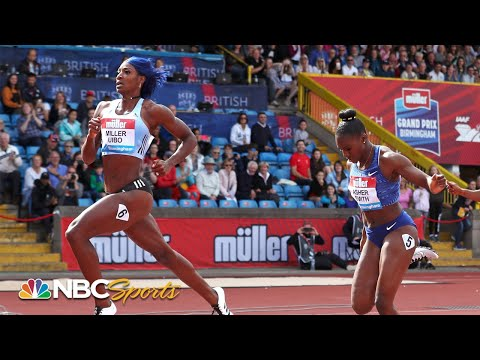 Shaunae Miller-Uibo pulls away from deep field in Diamond League 200m | NBC Sports