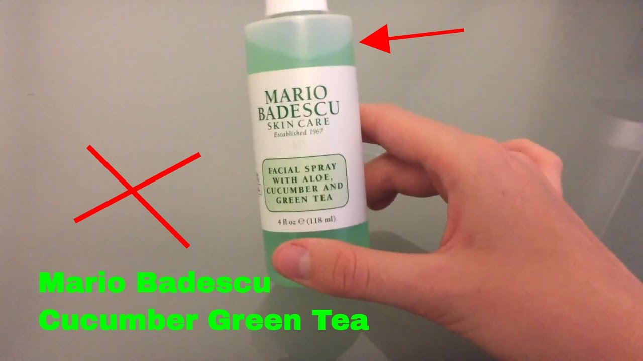 How To Use Mario Badescu Green Tea Facial Spray Review