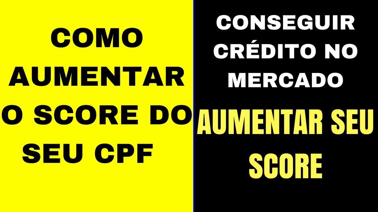 COMO AUMENTAR O SCORE DO SEU CPF