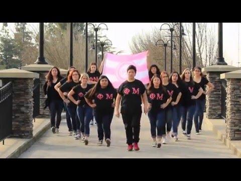 Phi Mu Homecoming 2016 Music Video CSU Stanislaus