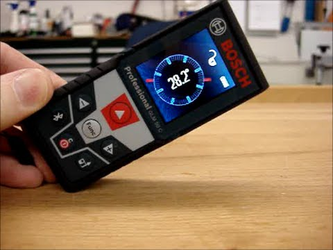Laser Entfernungsmesser Glm 50 C : Bosch glm c laser measurement review youtube