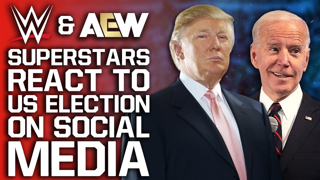 WWE And AEW Stars Respond To US Election On Social Media | Reason Behind Lana Storyline