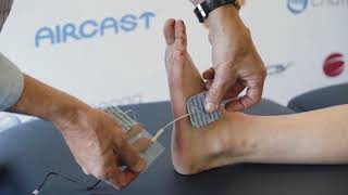 Pain Relief after Ankle Injury Using Intelect TENS Economy - Active Podiatry O'Connor