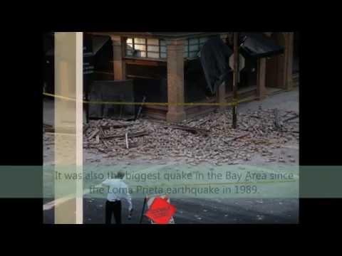 Earthquake - Napa Valley California