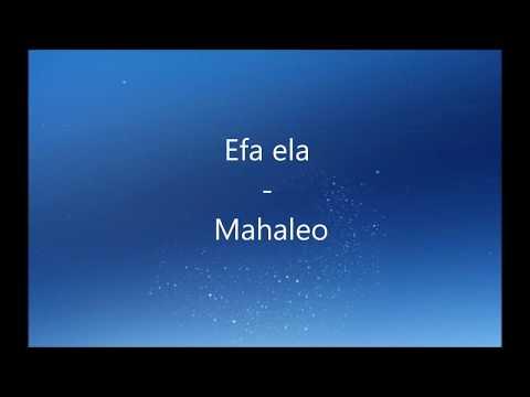 Efa ela -  Mahaleo  - Bekoto