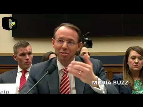 Deputy AG Rod Rosenstein Says Doesn't Support Getting Warrants! 12/13/17