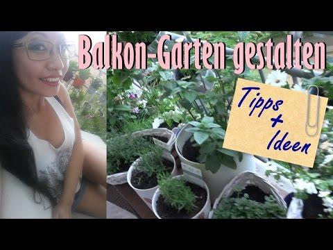 Balkon gestalten / Tipps & Ideen für Balkon Garten [Tyra at Home]
