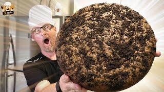 GIANT PEANUT BUTTER OREO BANANA BREAD CAKE
