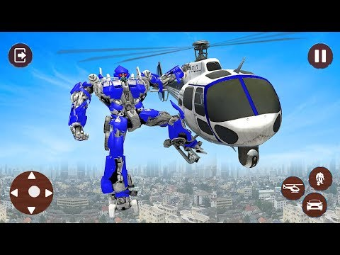 Police Helicopter Robot