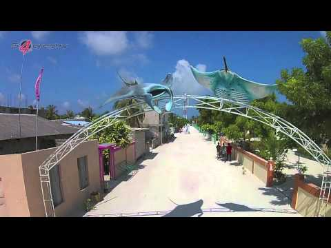 The Maafushi island.