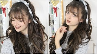 Cute & Easy Casual Glam Christmas Hairstyle