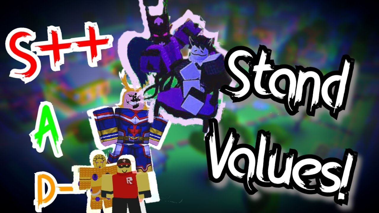 Stand Value Tier List A Universal Time Youtube Can anybdoy give me a stand changer in a universal time? stand value tier list a universal time