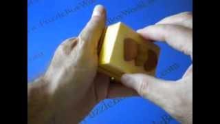 Karakuri Fruit Cake Japanese Secret Puzzle Box