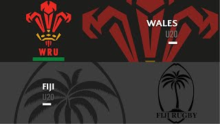 World Rugby U20s 2019 - Wales v Fiji - FULL MATCH