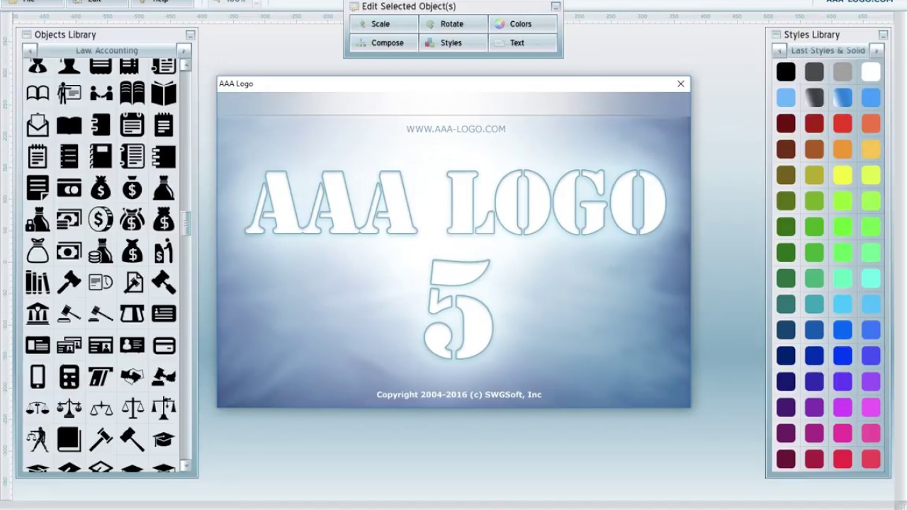 aaa logo portable full