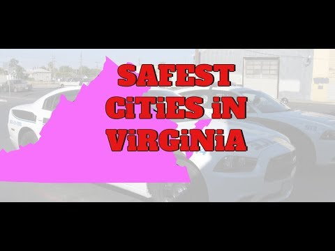 The 10 SAFEST CITIES In VIRGINIA For 2019 Mp3