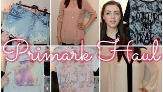 PRIMARK HAUL ❤ April 2014 | Frühlings - Sommer Kollektion