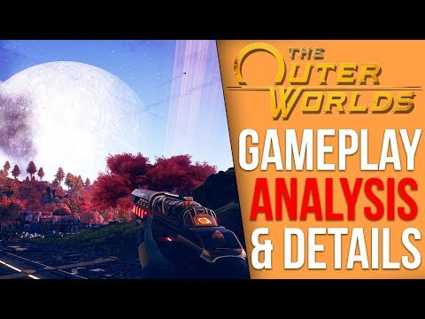 The Outer Worlds - Massive Gameplay and Information Dump
