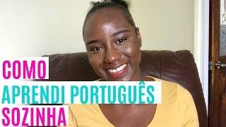 como aprendi português sozinha